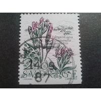 Швеция 1987 цветы