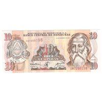 Гондурас 10 лемпира 2000 г. UNC