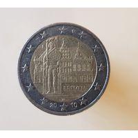 2 евро Германия 2010 F Федеральные земли Бремен