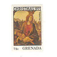 Гренада. Живопись. Филиппо Липпи. 1 марка.