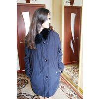 Куртка красоты загадочной Воротник натуральный мех р 52-54