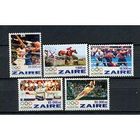 Конго (Заир) - 1996 - Зимние Олимпийские игры - [Mi. 1126-1130] - полная серия - 5 марок. MNH.