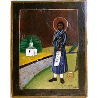 Икона Праведный Симеон Верхотурский (Меркушинский), XIX/XX вв.