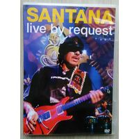 DVD. Santana. Live by Request.