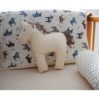Лошадка конь текстильная игрушка для деток 0+