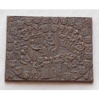 Медаль-плакетка в память 500-летия Польского сената тираж 400 штук