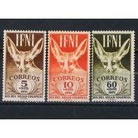 Испания Колонии Ифни 1951 Год марки Фенек #105-7**