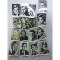 Распродажа Коллекции !!! Фотографии Артистов 30 е - 80 е годы . 41 штука .