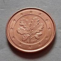 2 евроцента, Германия 2017 A, AU