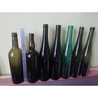 Старые бутылки ПМВ, одним лотом