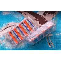 Лезвия для бритвы Gillette Fusion. Цена за упаковку из 4-х касет для бритвы Джиллет Фьюжен.