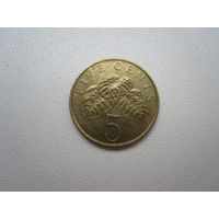 5 Центов 1997 (Сингапур)