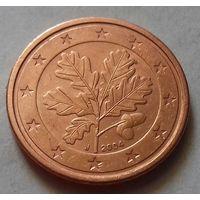 2 евроцента, Германия 2004 J