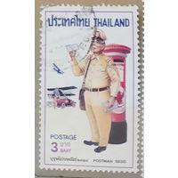 Авиация Самолеты Письма Почта униформа почтальонов Таиланд 1976 год лот 6 менее 30 % от каталога