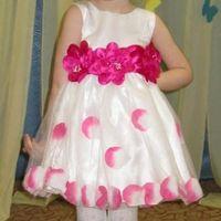 Нарядное платье для вашей принцессы на рост 100 см