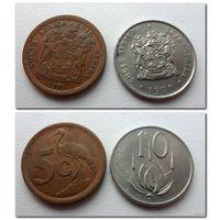 Южная Африка - 2 монеты (из коллекции) - цена за все