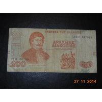 Греция 200др. 1996 г.