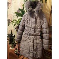 Куртка для девочки, зимняя, 13-14 лет, размер 42-44, как новое