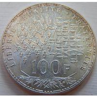 17. Франция 100 франков 1983 год, серебро