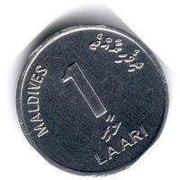 Мальдивы. 1 лари. 2012 г.