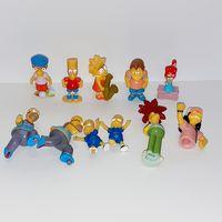 Симпсоны киндер серии 2007 и 2010 г. (продаются верхние, нижние в подарок к верхним 1+1)
