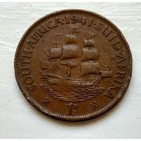 ЮАР 1 пенни, 1941 3-2-18