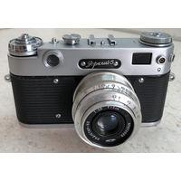 Фотоаппарат Зоркий-5 1959 г. с объективом Индустар-50 после полного сервиса