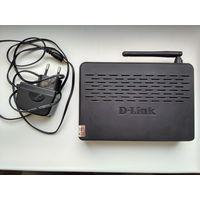 Беспроводной ADSL маршрутизатор модем D-Link DSL-2640U дешево
