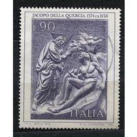 Искусство, скульптура. Якопо делла Кверча. Италия. 1974. полная серия 1 марка