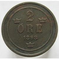 Швеция 2 эре 1898 (117)