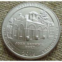 25 центов 2016 США -  Харперс Ферри