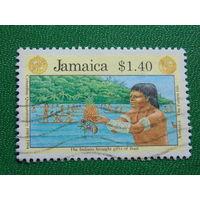 Ямайка 1994г. Флора.