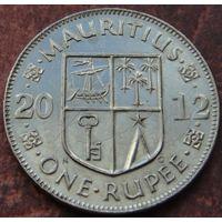 5650:  1 рупия 2012 Маврикий