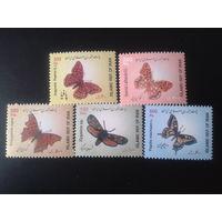 Иран 2003 Бабочки полная серия
