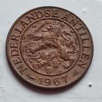 Нидерландские Антильские острова 1 цент, 1967  4-4-56