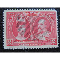 Колония Англии Канада 1908г. Королевская чета.
