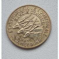 Центральная Африка 10 франков, 1969 8-4-11