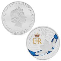 Монета Канада 2016г. 90 лет Королевы. одна унция. распродажа