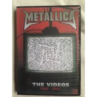 РАСПРОДАЖА DVD! METALLICA - THE VIDEOS 1989-2004