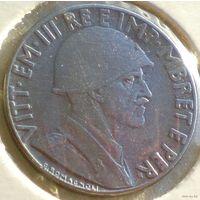 Албания, 0,2 лека 1939 года, Vittorio Emanuele III, KM# 29 (2-я монета, магнитн).