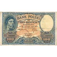 Польша, 100 злотых, 1919 г.