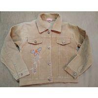 Вельветовая курточка для девочки