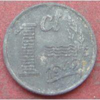 6432:  1 цент 1942 Бельгия