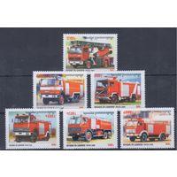 [872] Камбоджа 2000. Пожарные автомобили.
