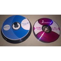 DVD-R SmartTrack и Optimum ((цена за 3 штуки)) Чистые