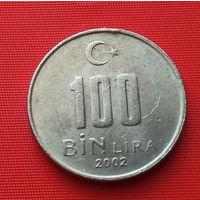 25-15 Турция, 100000 лир 2002 г.