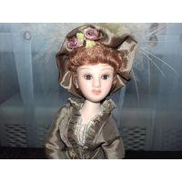Фарфоровая кукла СССР с рубля