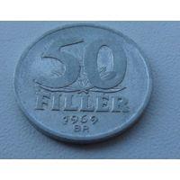 50 филлеров Венгрия 1969 г.в. KM# 574 ,50 FILLER, из коллекции