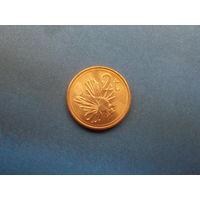 2 цента 2002 папуа новая гвинея