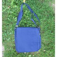 Сумка-планшет на плечо. Студенческая сумка. Сумка для ноутбука
